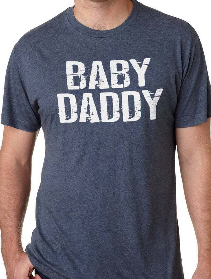 48416aea9f30e Casual Baby Daddy Shirt Cool Maternity Gift New Dad Gift Fathers Day Gift  Husband Shirt Dad Shirt Husband Gift