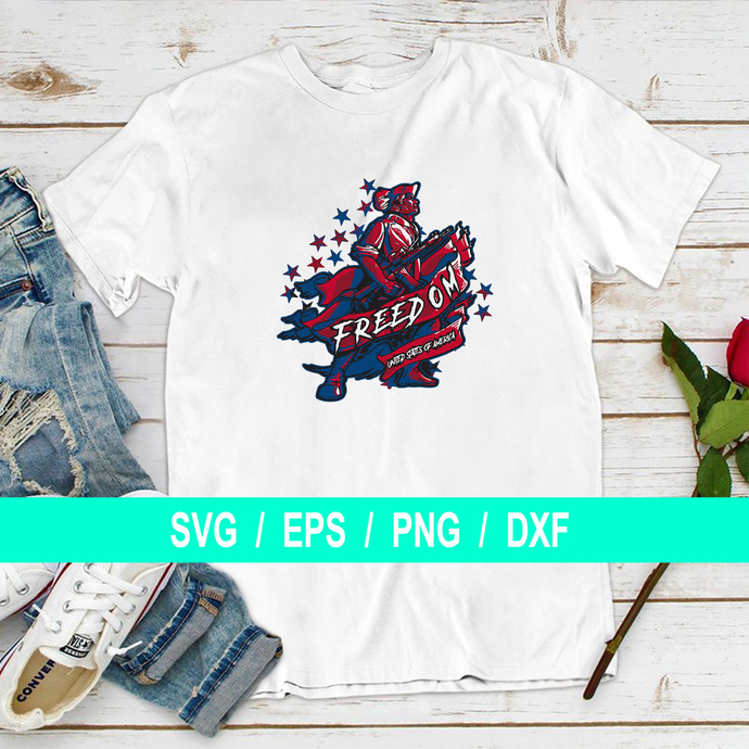 Freedom united state of america, 4th of July Shirt, America T Shirts for Women