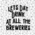 Lets day drink at all the breweries Svg, png, dxf,eps file for Cricut,