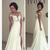 Hot A-Line Chiffon Off The Shoulder Beach Wedding Dress Cheap White Bridal