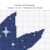 Whale silhouette modern cross stitch pattern, starry night, sea, ocean, nature,