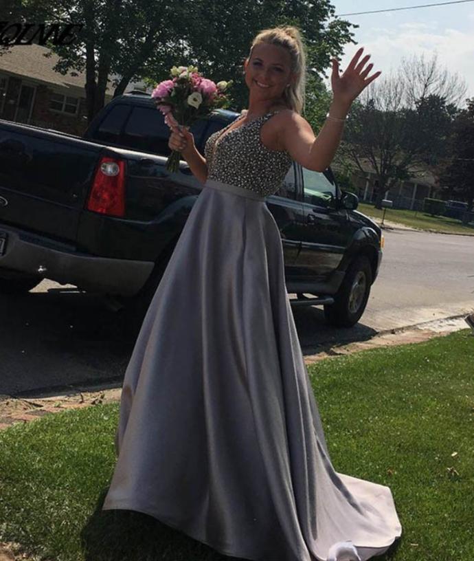 Prom Dresses Prom Dresses Satin Long Prom Dresses,Evening Dresses