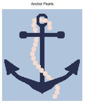 Anchor Pearls Blanket Crochet Graph Pattern
