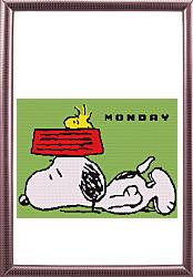 Monday Snoopy 240 by 180 sc
