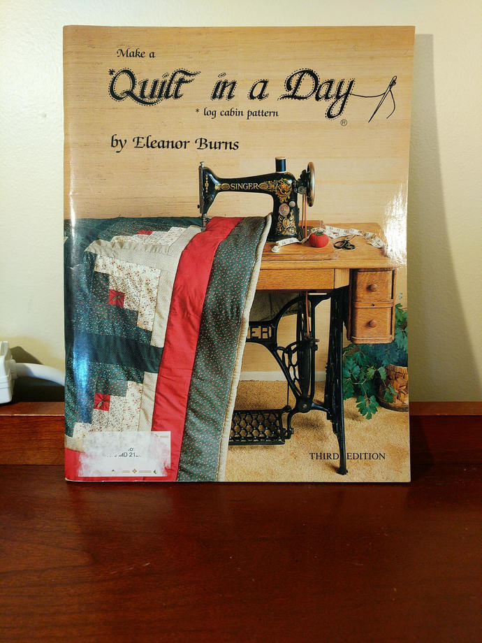 Quilt in a Day Log Cabin Eleanor Burns out of print