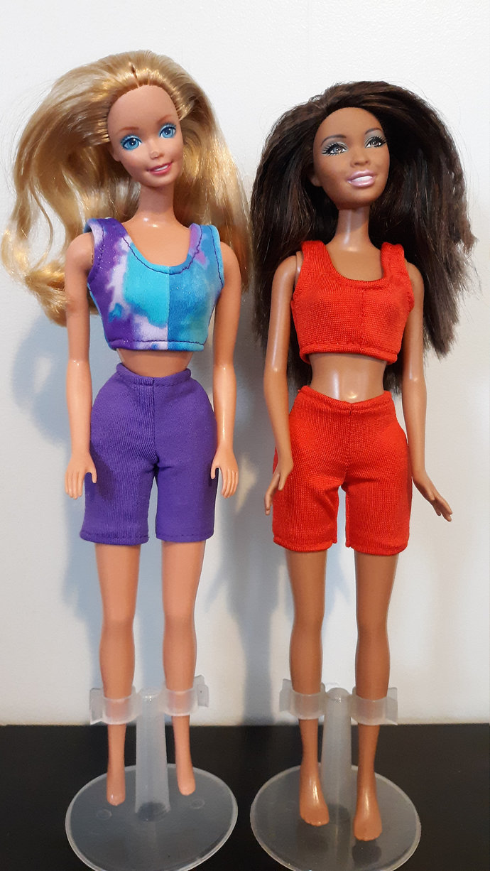Workout Wear for Fashion Doll such as Barbie