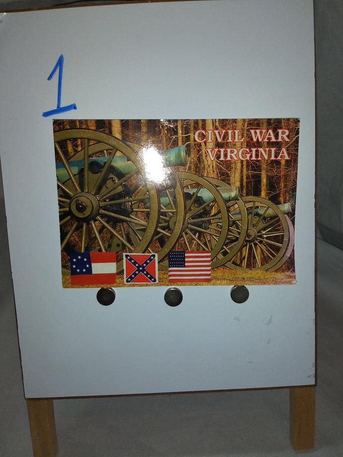 Virginia Civil War Post Cards