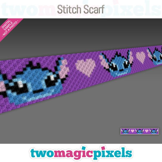 Stitch Crochet Scarf pattern