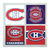 Montreal Canadiens Coasters - set of 4 tile coasters - NHL, hockey, MTL, Canada,