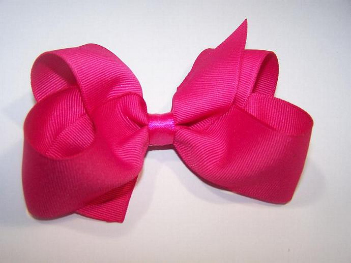 Sassy in Pink Boutique Bow