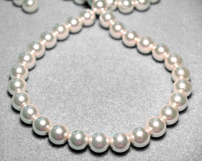 Big & Beautiful II- designer glass pearls
