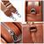 JM032 Full Grain Leather Messenger Shoulder Office Bag Laptop Handbag Briefcase