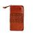 JM034 Handmade Full Grain Cowhide Leather Zipper Long Wallet Large Capacity Card