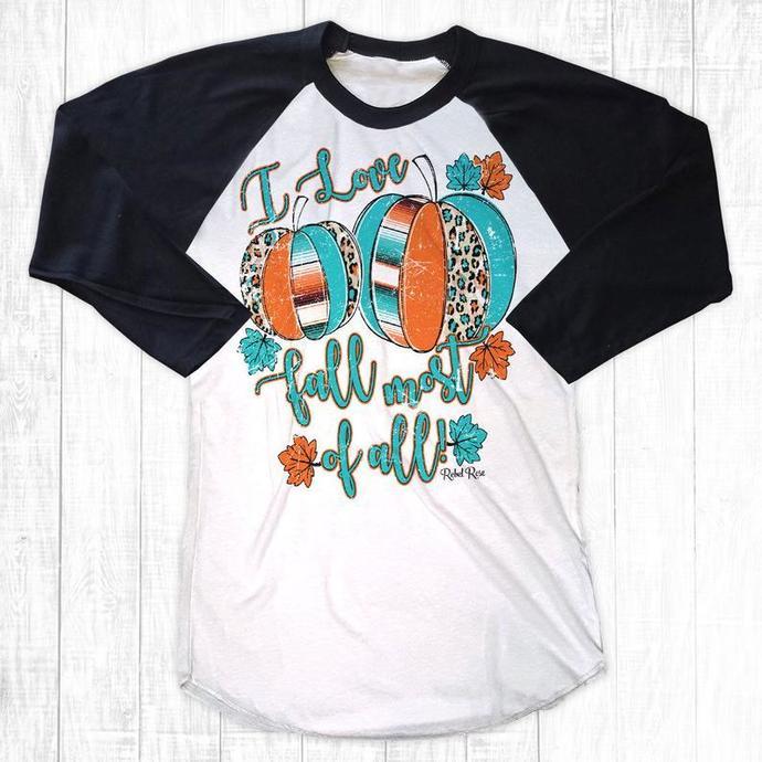 I Love Fall Shirt, Pumpkin Shirt, Halloween Shirt, Pumpkin Spice Shirt, Fall