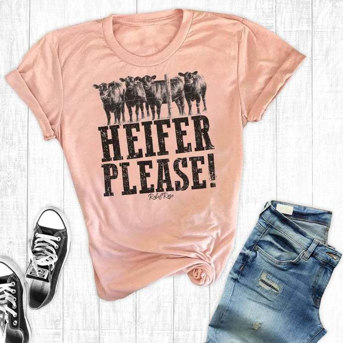 Cow Shirt, Heifer Please, Southern Shirts, Cow Lover TShirt, Country Shirt,
