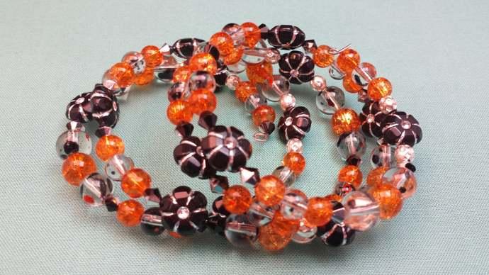 Orange Fall Bracelet