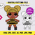 LOL Dolls Queen Bee SVG, eps, dxf, ai, pdf, jpg, png