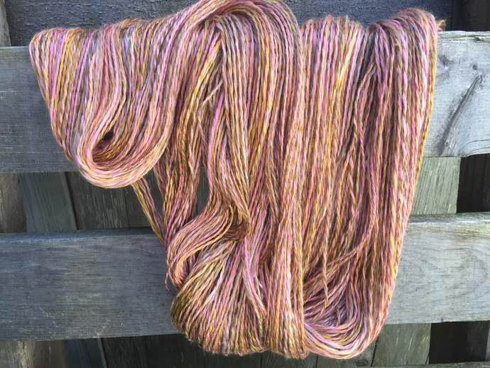 Handspun Vegan Bamboo Yarn, for knitting, crochet, weaving