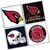 Arizona Cardinals Coasters - set of 4 tile coasters - NFL, football, Cards, Ari,