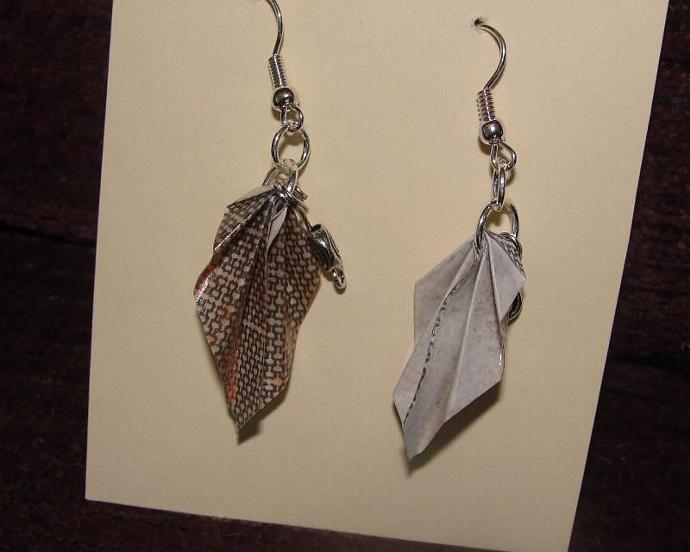 Tinted Junkmail Jewels Earrings
