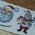 Christmas Santas Ceramic Waterslide Decals D10-21