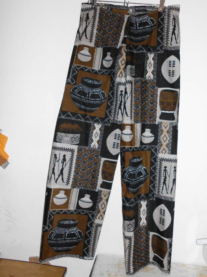Drum Handmade batik  Worldwide free shipping women dashiki designer pants