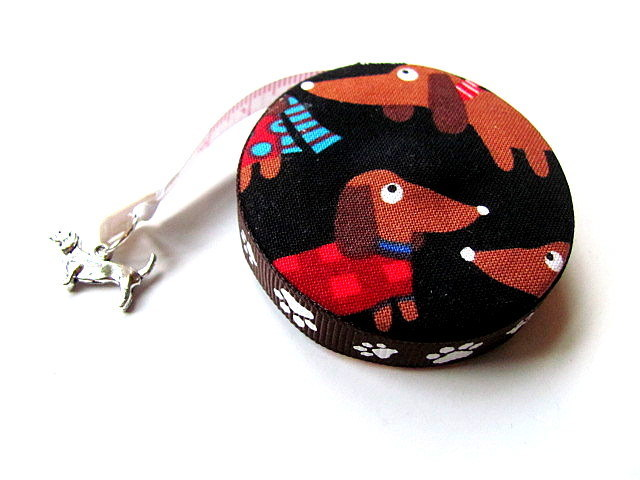 Measuring Tape Rainbow Dachshunds Retractable Tape Measure