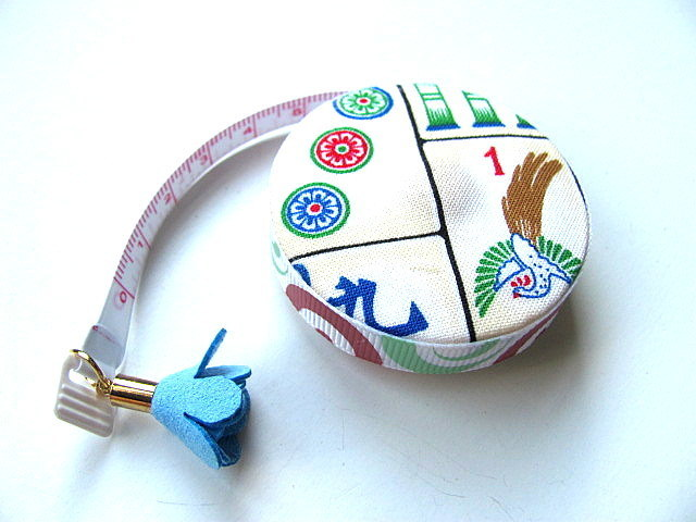Measuring Tape Mah Jong Tiles Retractable Tape Measure