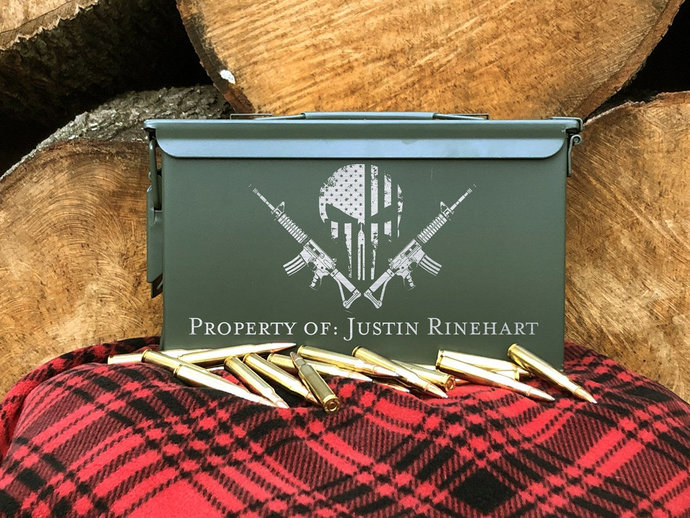 Engraved Steel Ammo Can Best Sellers