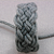 grey BASIC turks head knot bracelet SMALL 350