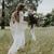 Bohemian Lace Wedding Dresses 2019 V Neck Long Sleeves Backless A Line Floor