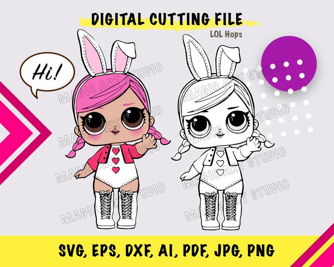 LOL Hops SVG, eps, dxf, ai, pdf, jpg, png