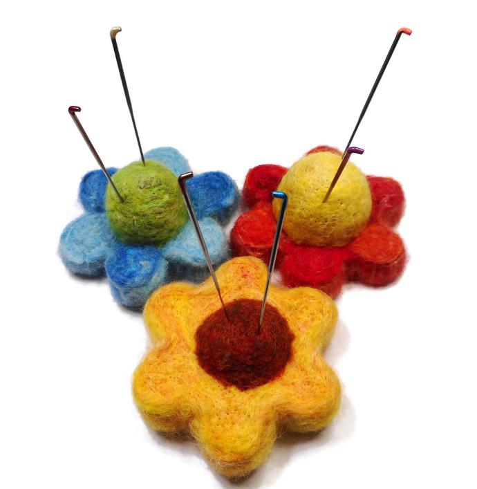 All Natural Organic Pin Cushions - Small Size - Perfect Christmas Gift! - Hand
