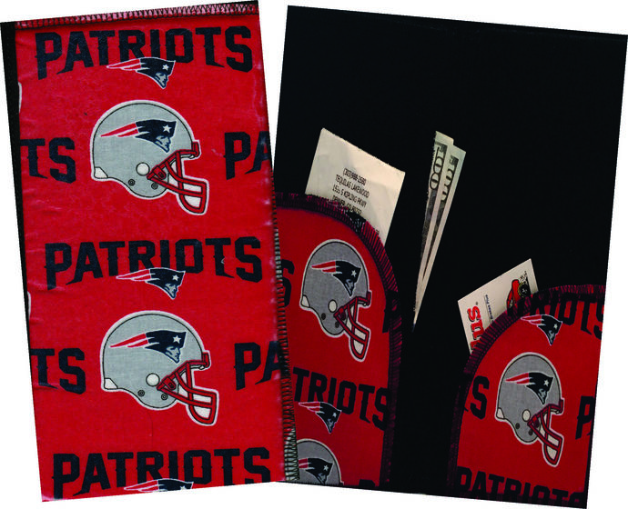 Server Wallet / Book - NFL New England Patriots