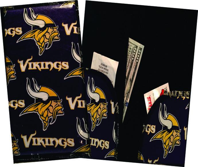 Server Wallet / Book - NFL Minnesota Vikings