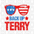 Back Up Terry, American, sunglasses, terry svg, 4th Of July, American Svg, Happy