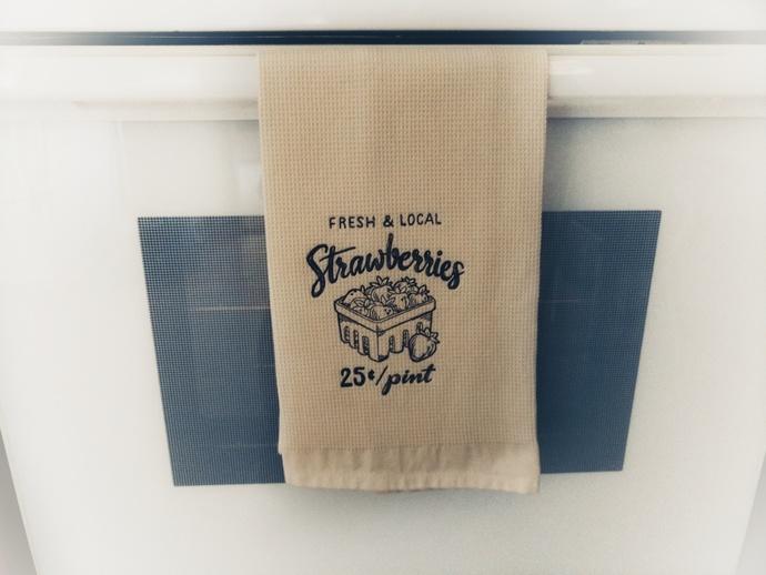Farmers Market Towel, Farmers Market Style, Farmhouse Decor, Farmhouse Towel,