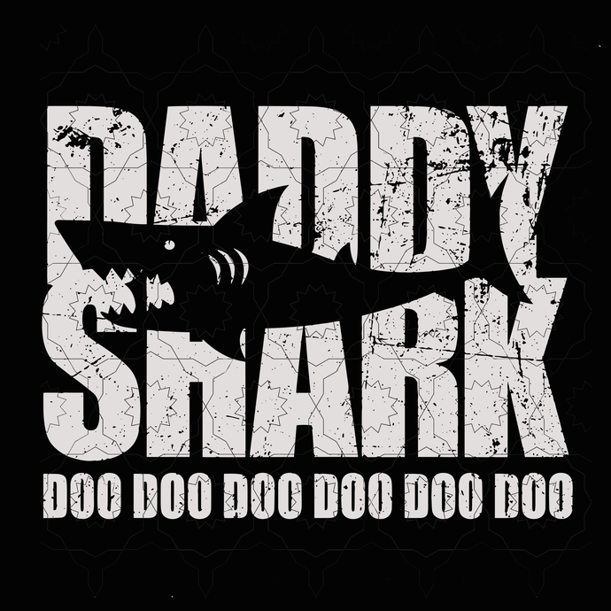 Daddy shark doo doo doo svg, Mommy shark svg, shark svg, shark doo svg Daddy