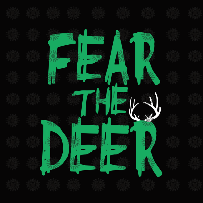 Fear the deer,Fear the deer svg, deer svg, deer clipart, baseball clipart,