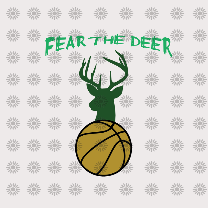 Fear the deer,Fear the deer svg, deer svg, deer clipart, baseball clipart,