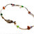 Multi-color pearl  bracelet - tiny noodle tubes & freshwater pearl jewelry,
