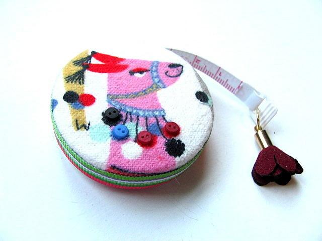 Tape Measure Dressed Llamas Pocket Retractable Measuring Tape