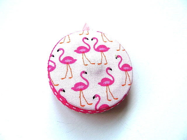 Tape Measure Tiny Flamingos Retractable Measuring Tape