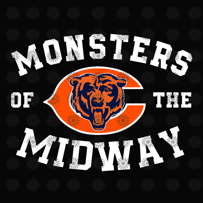 Chicago Bears SVG,Chicago Bears Files,Chicago Bears Football SVG,Bears