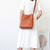 JM043 Fashion Women's Vegetable-tanned Leather Shoulder Bag Bucket Bag Cross
