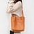 JM044 Fashion Women's Vegetable-tanned Leather Shoulder Bag Bucket Bag Tote