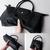 JM047 Women's Soft Full Grain Leather Shoulder Tote Bag Satchel Bag Medium