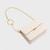 JM049 Lady's Fashion Full Grain Leather Small Shoulder Crossbody Bag Metal Chain