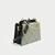 JM050 Fashion Ladies Full Grain Leather Small Crossbody Shoulder Tote Bag Metal