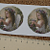 Sweet Angel w Flowers Ceramic Decal D10-29